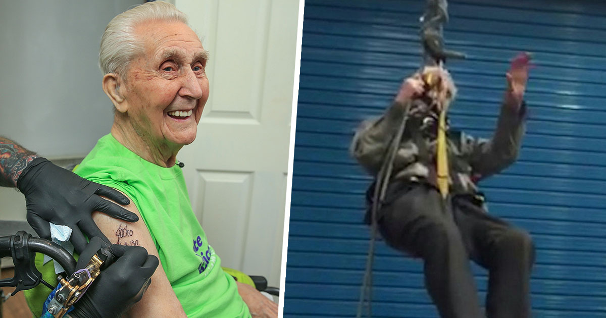 Daredevil Pensioner Who Broke Four World Records Dies Aged 108