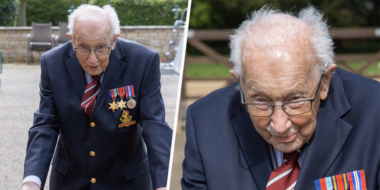 Army Veteran Raises More Than £1.2 Million For NHS With His 100th Birthday Walk
