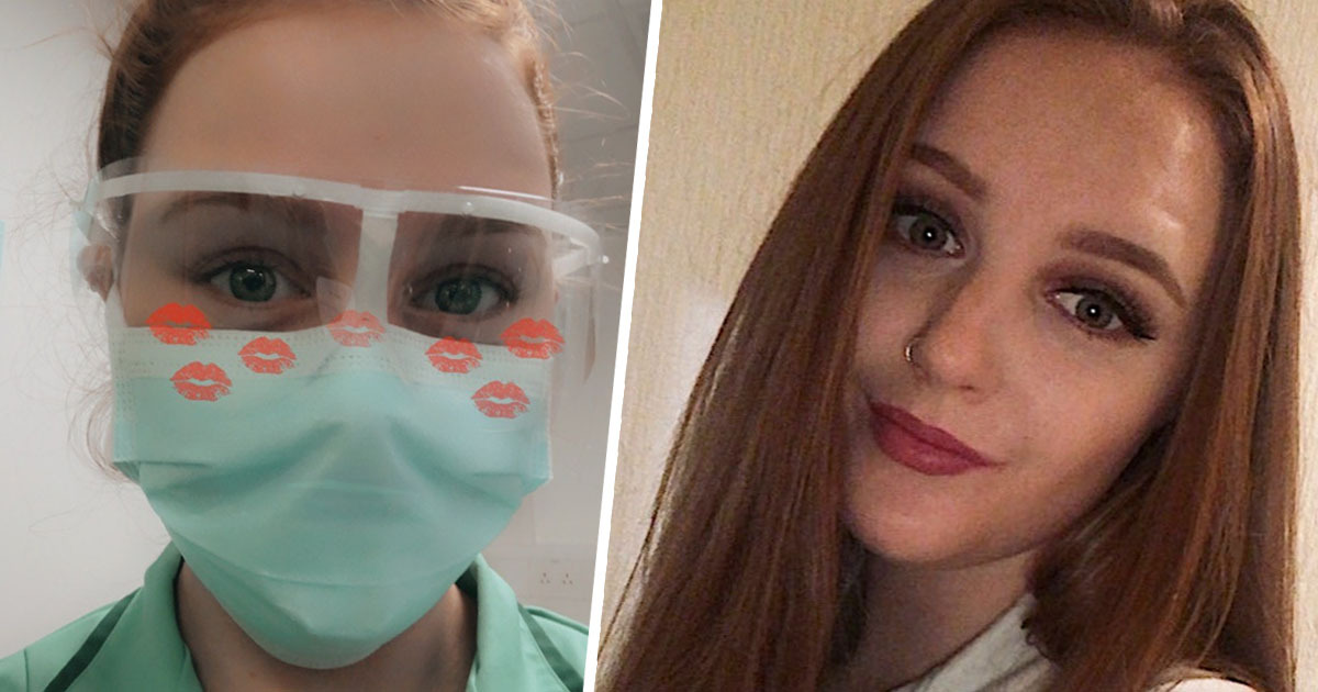 Teenage Hospital Cleaner Proud To Help The NHS During Pandemic
