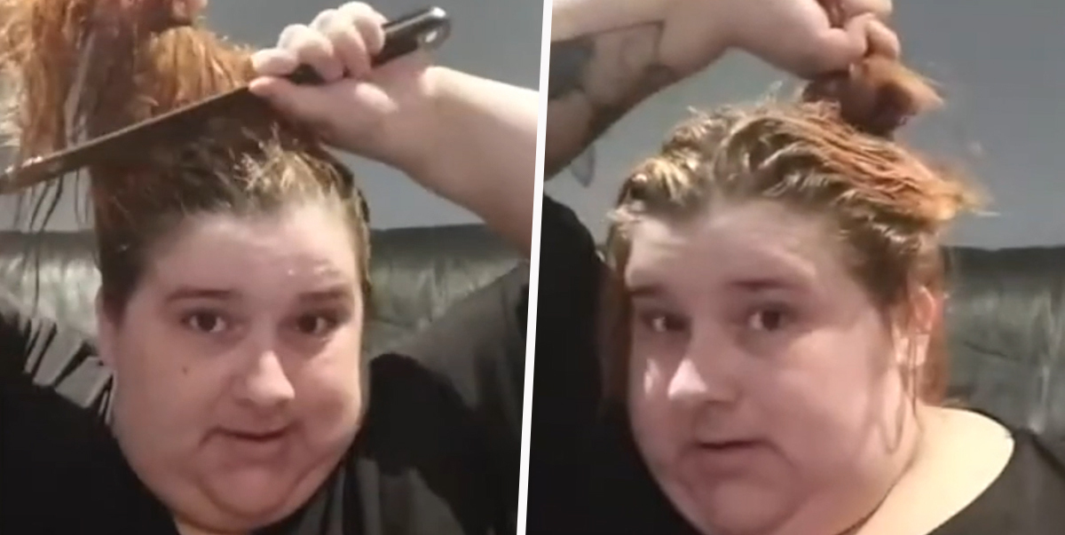 Bored New Zealand Woman Saws Hair Off With Kitchen Knives Because She Has No Scissors