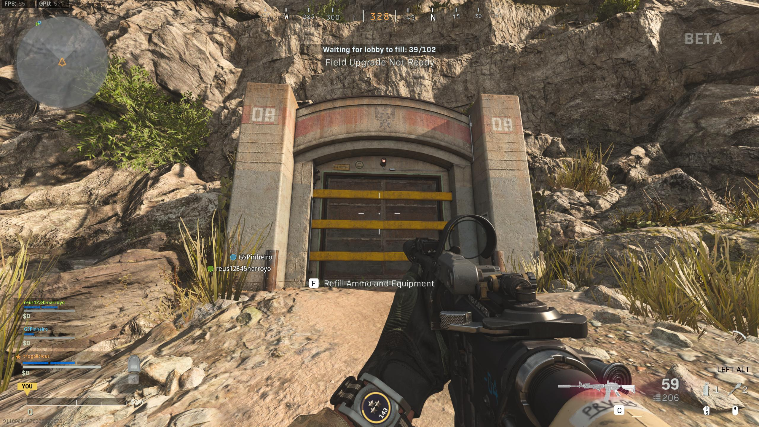 Call of Duty Bunker Doors