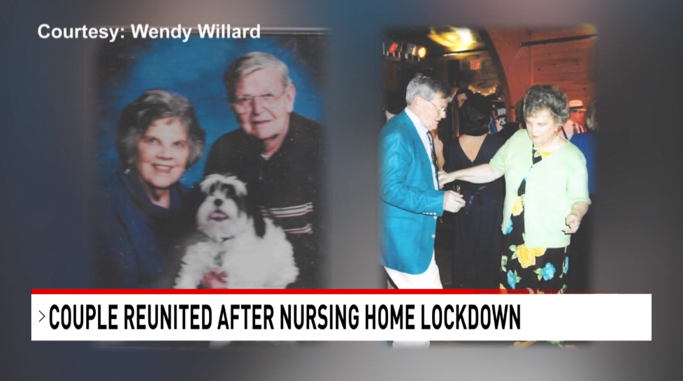 Couple Reunited After Coronavirus Restrictions 3