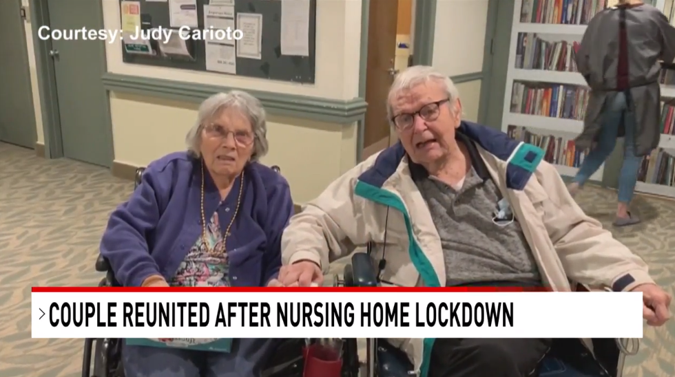 Couple Reunited After Coronavirus Restrictions 4