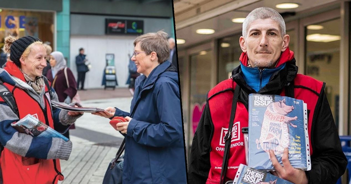 The Big Issue Will Deliver Magazines To Your Door So You Can Help During Quarantine