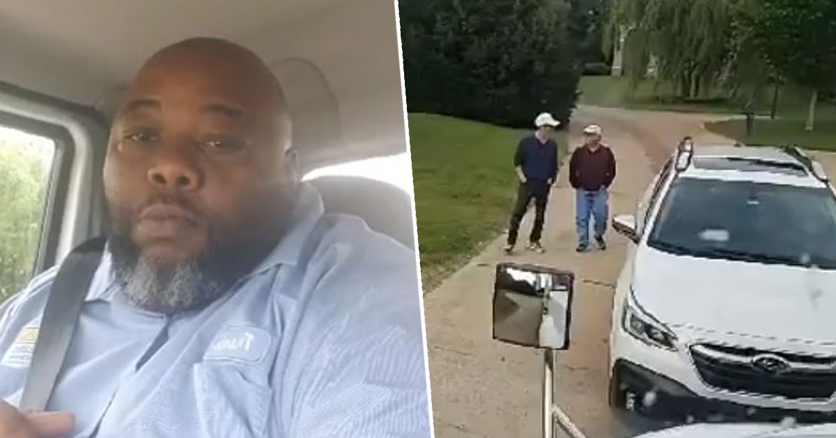 black delivery driver held against his will 1