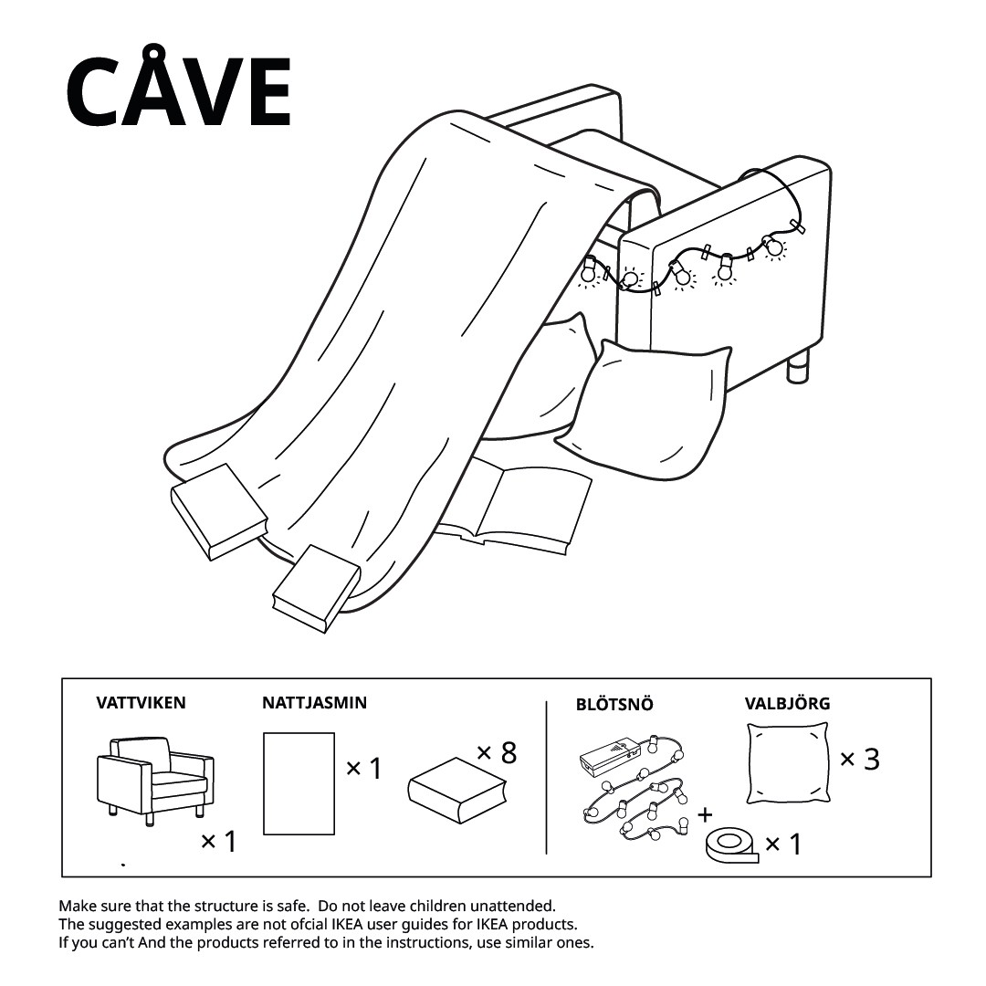 cave ikea fort