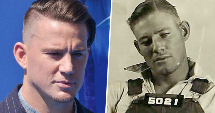 Channing Tatum's Convicted Felon Doppelgänger Unveiled By Granddaughter