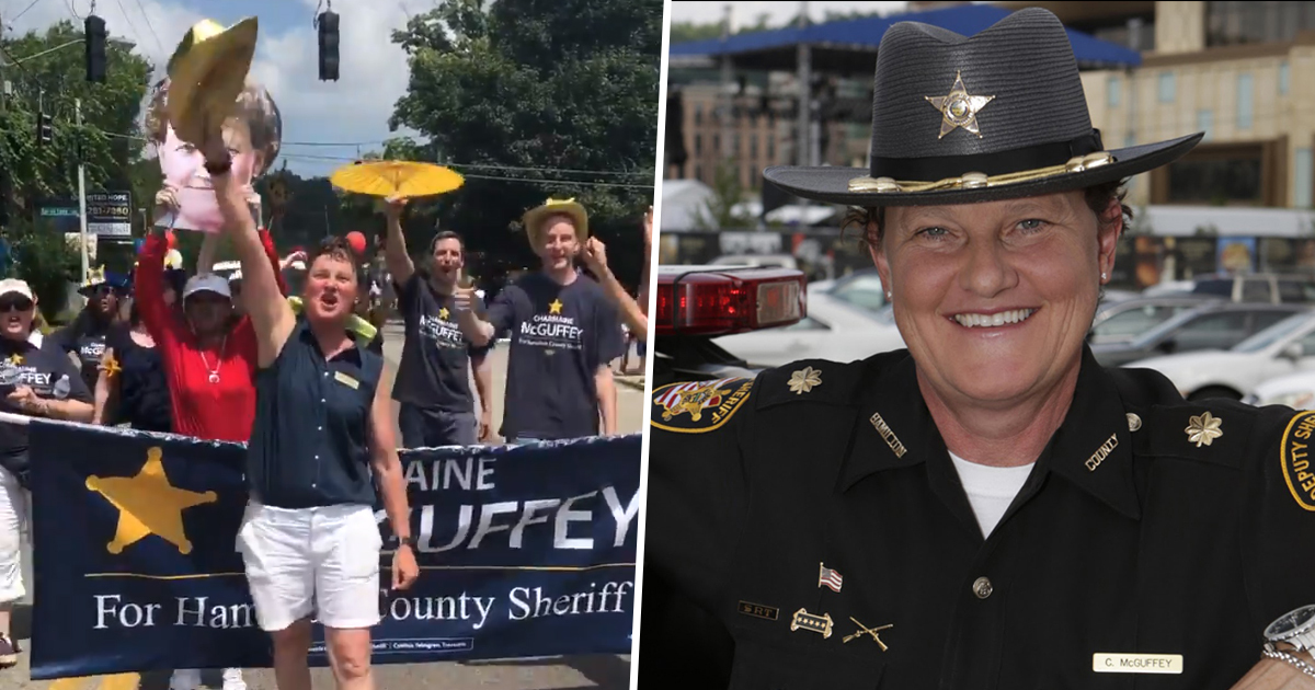 Ohio Woman Fired By Hamilton County Sheriff 'Because She's A Lesbian' Destroys Him In Bid For His Own Office