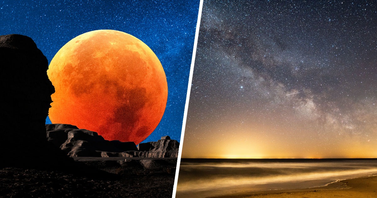 Stunning Eta Aquarids Meteor Shower And Super Flower Moon Happening This Week