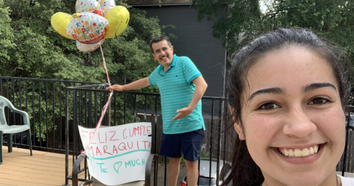 Texas Dad Drives 1,000 Miles On Daughter's Birthday To Have Lunch With Her