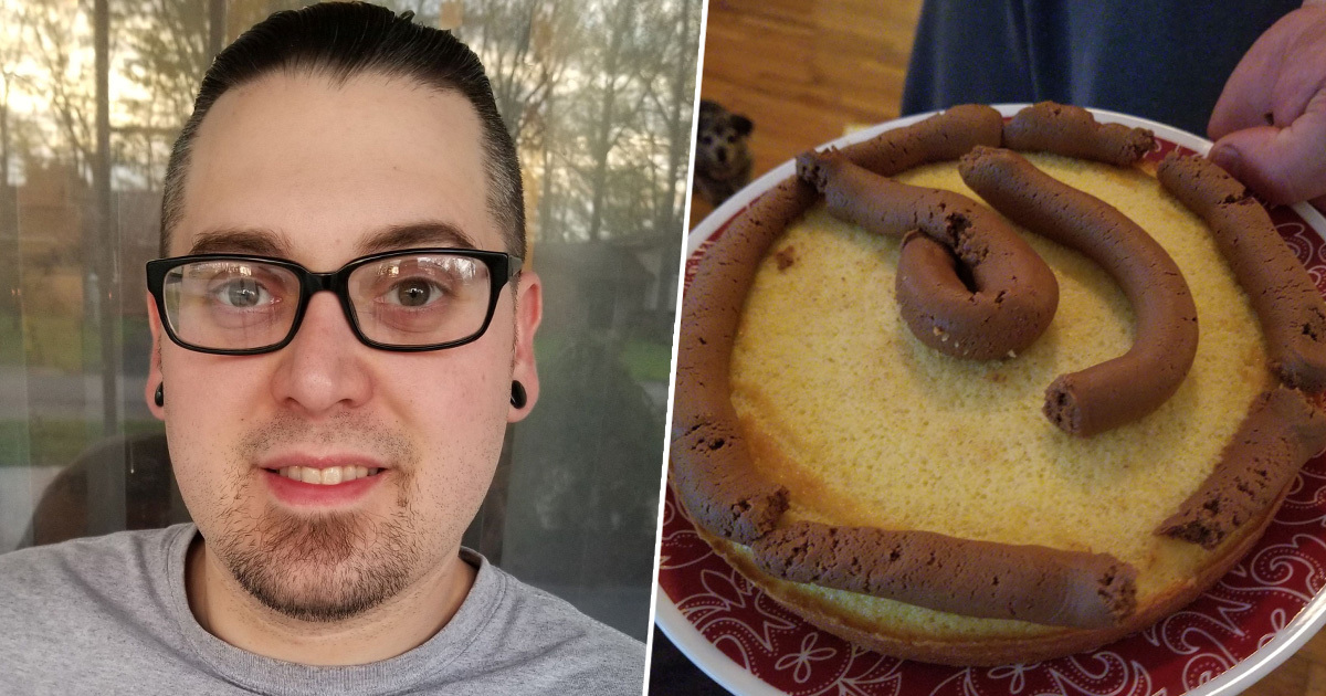 Michigan Guy Bakes Wife A Cake That Looks Like An Actual Dog Sh*t