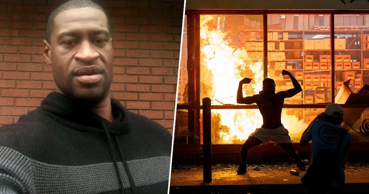 George Floyd's Girlfriend Say Riots Would Devastate Him And Calls For Violence To End