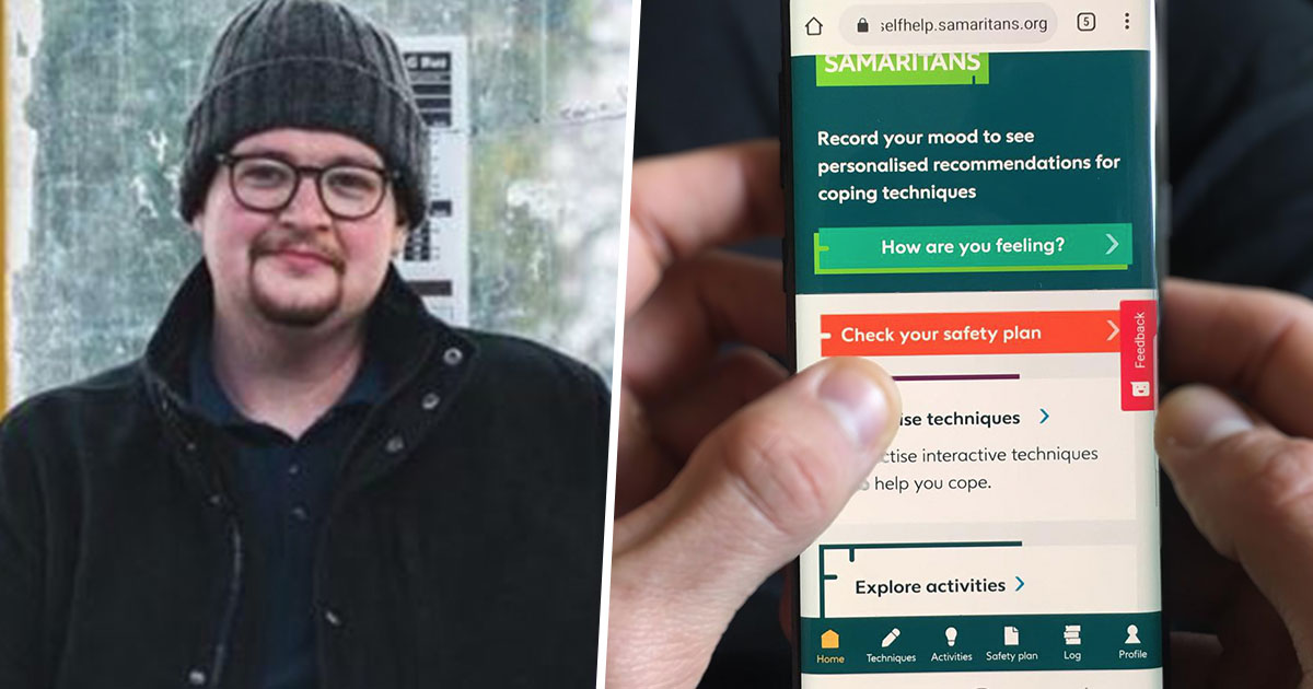Samaritans Self-Help App Prevented Person From Self-Harming