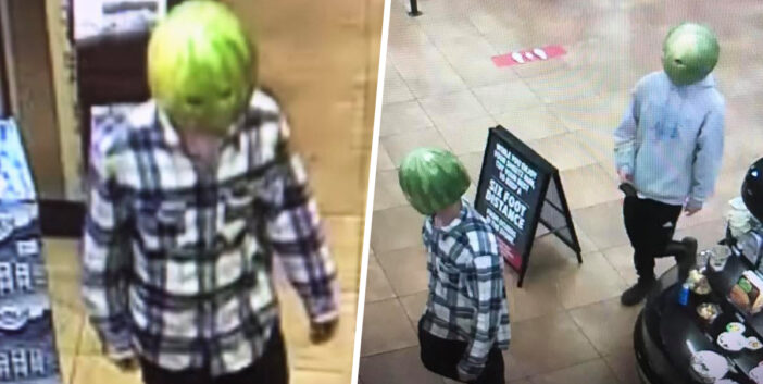 Virginia Police Hunt Guys Who Shoplifted Wearing Hollowed Out Watermelon Masks