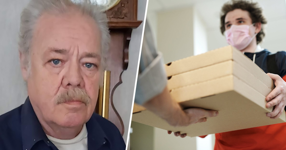 OAP Keeps Mysteriously Receiving Loads Of Pizza He Didn't Order