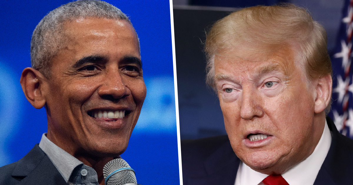 Fox News Poll Finds Americans Have More Favourable View To Obama Than Trump