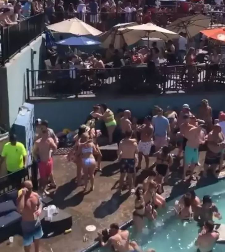 Partygoer Who Went To Massive Memorial Day Pool Party Tests Positive For Coronavirus