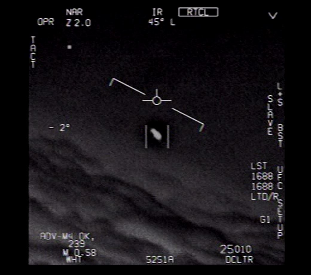 pentagon releases videos of ufo