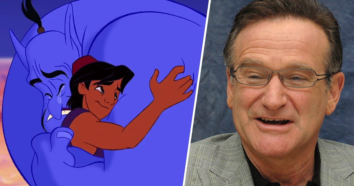 Robin William's Grandson Is Learning All About Him Through Aladdin