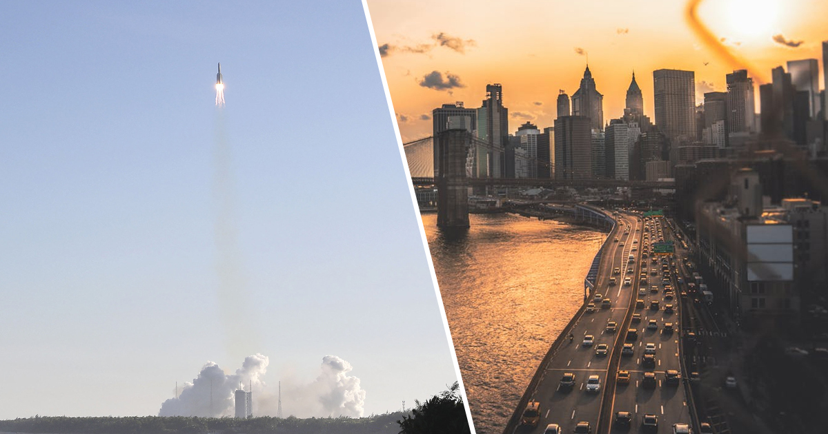 20-Ton Chunk Of China's Failed Rocket Missed Hitting New York By Minutes
