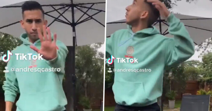Texas Guy Captures Moment Tree Nearly Falls On Him While Doing Ariana Grande TikTok Dance