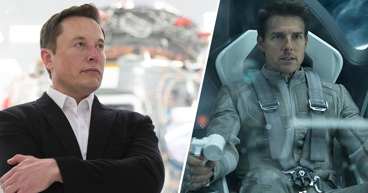 Tom Cruise Is Going To Outer Space To Shoot Action Movie With Elon Musk's SpaceX