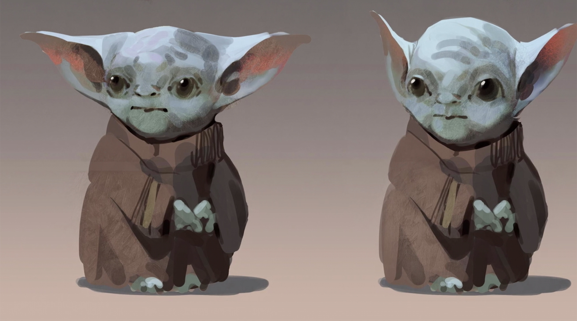 Baby Yoda Early Designs For Mandalorian Released And They're Super Creepy