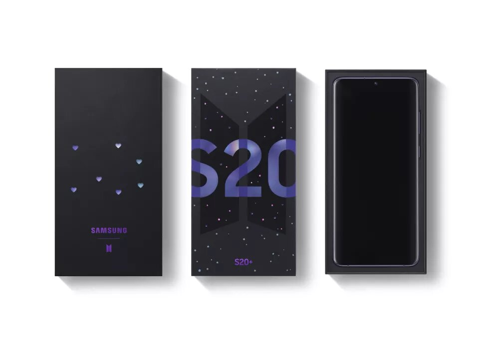 Samsung Teams Up With K-Pop Band BTS For Special Edition Galaxy S20 Plus - UNILAD