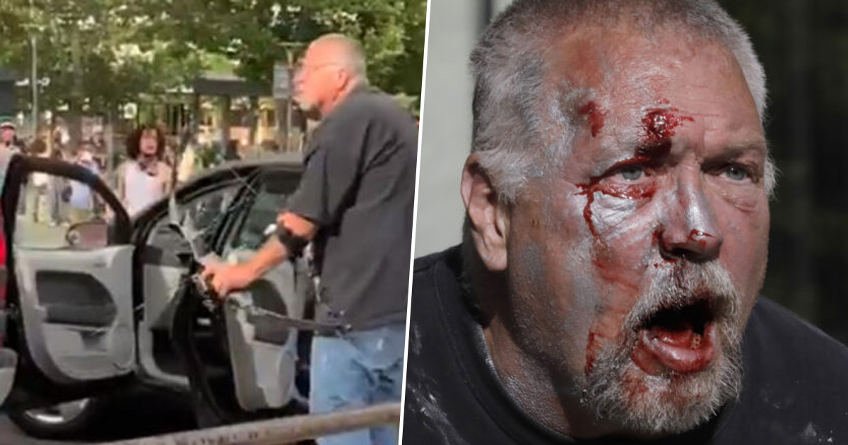Man Who Threatened Protesters With Bow And Arrow Hit With Felony Charges
