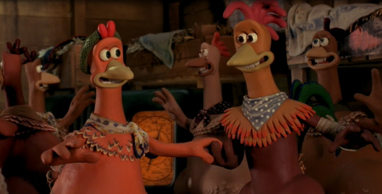 Chicken Run Rocky Ginger