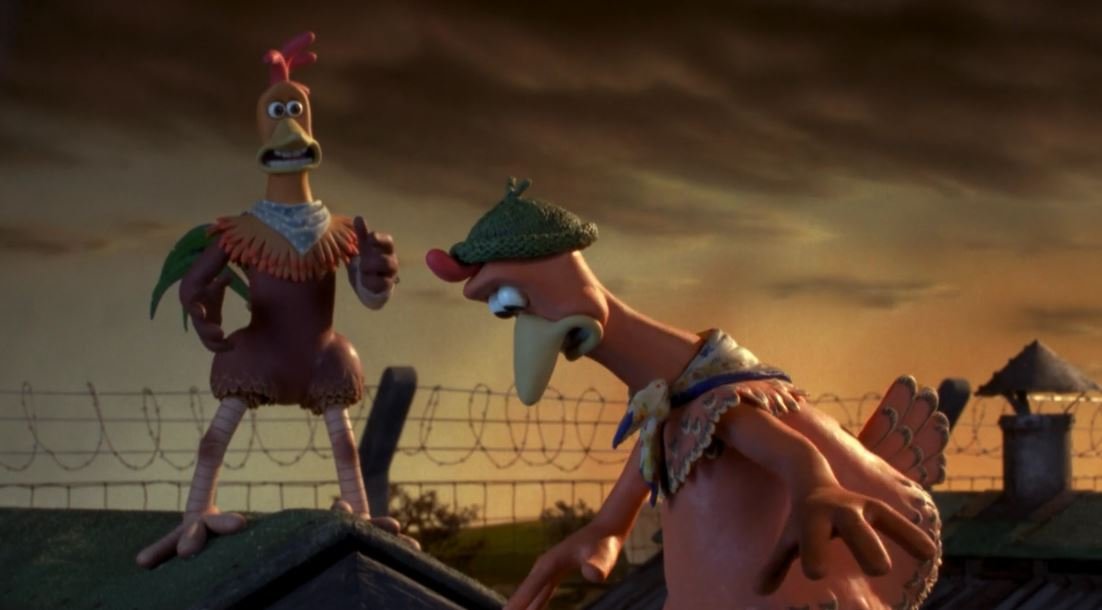 Chicken Run Rocky and Ginger