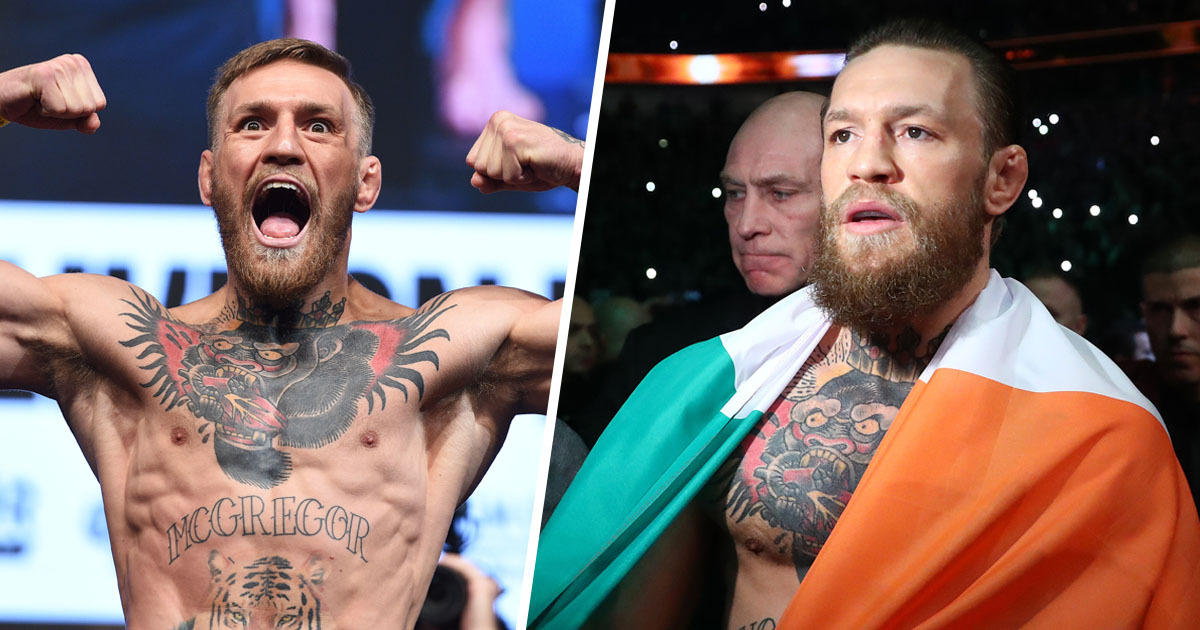 Conor McGregor Announces Shock Retirement From Fighting Aged 31 ...