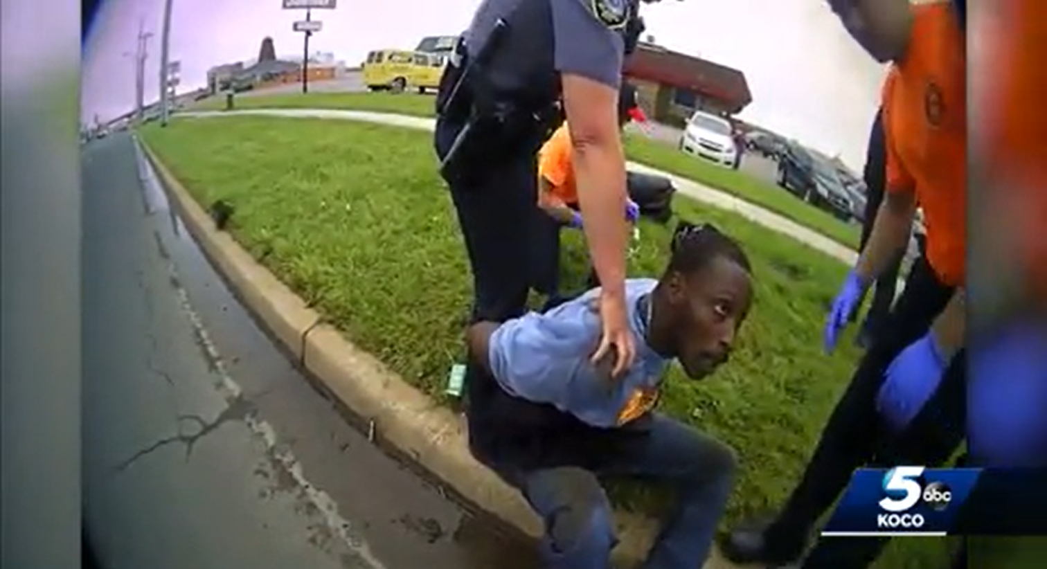 I can't breathe Oklahoma Man Arrested By Police 2