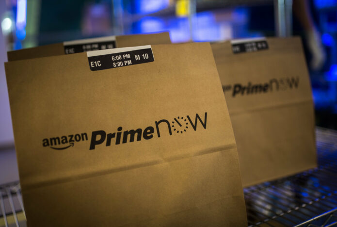 amazon prime now package