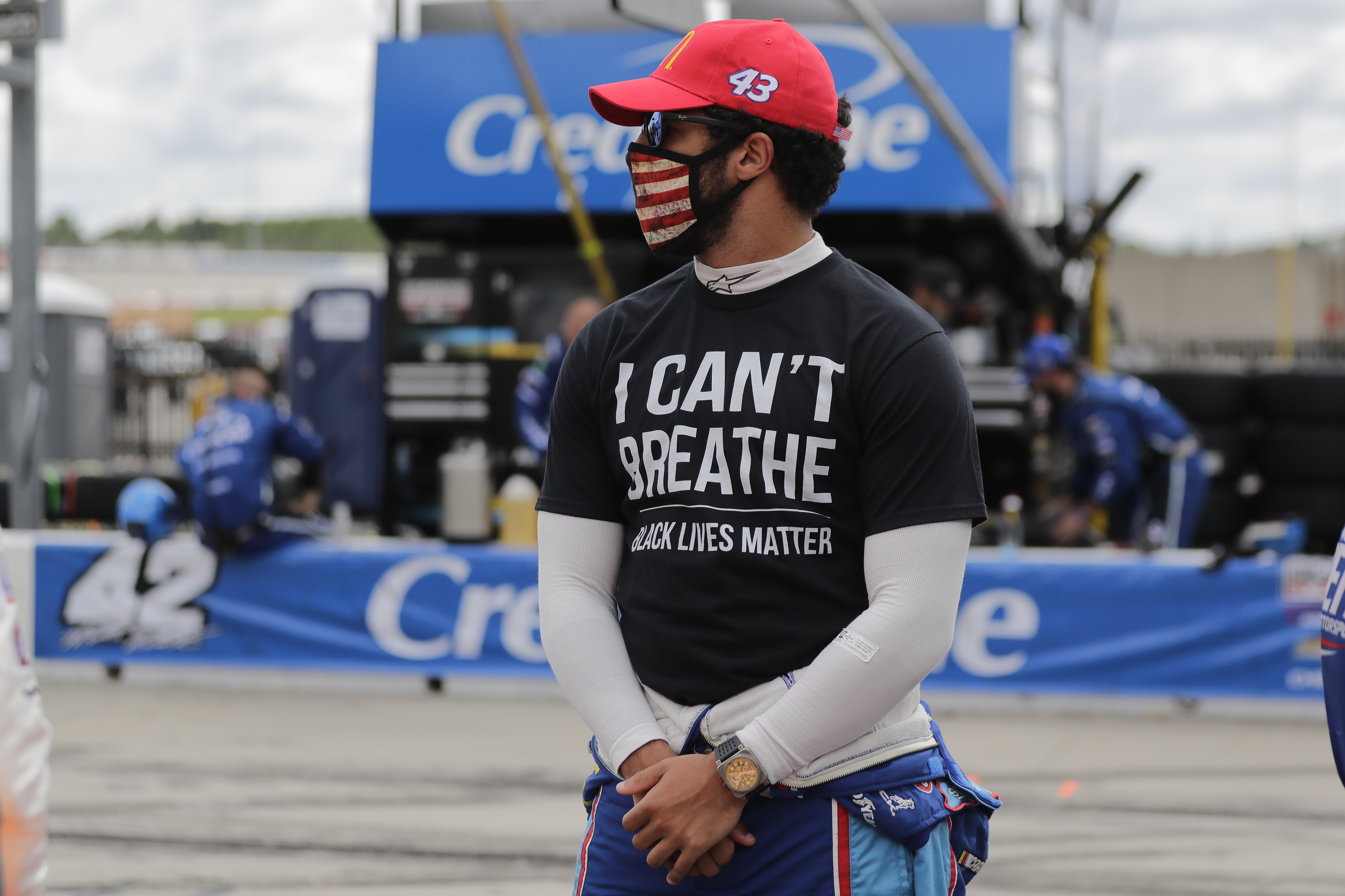 NASCAR Bans Fans From Displaying The Confederate Flag At Racetracks Bubba Wallace