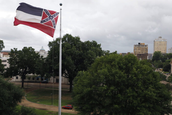 Mississippi To Strip Confederate Emblem From State Flag Because It's Racist