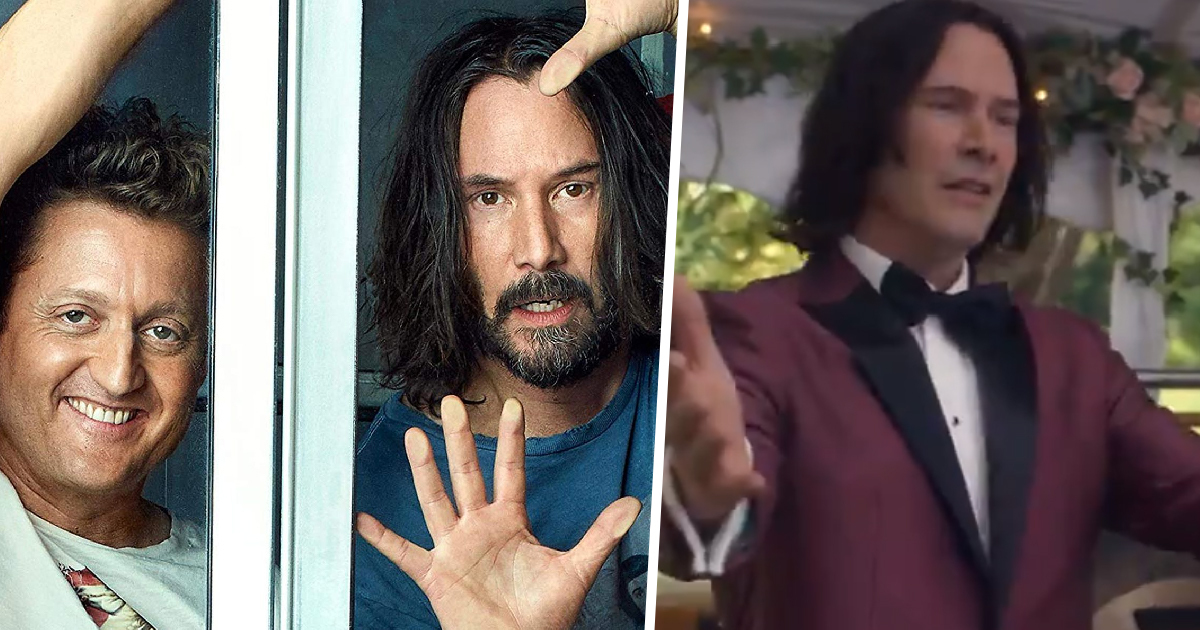 First Hilarious Trailer For Bill & Ted Face The Music Drops