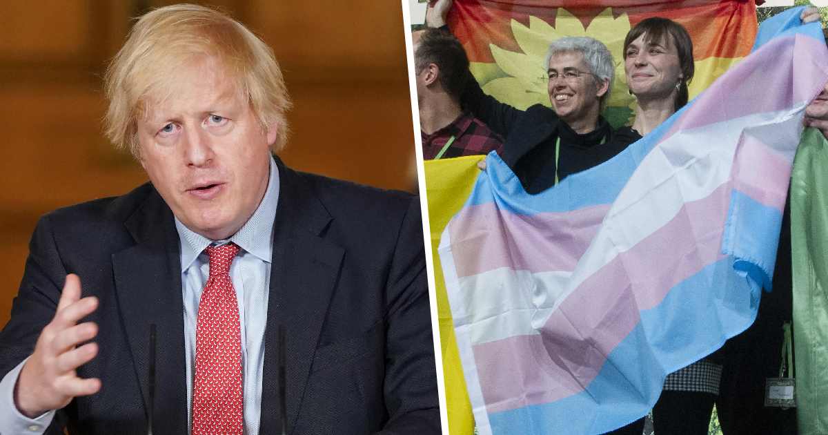 Boris Johnson To Halt Self-Identifying Measures Despite 70% In Support