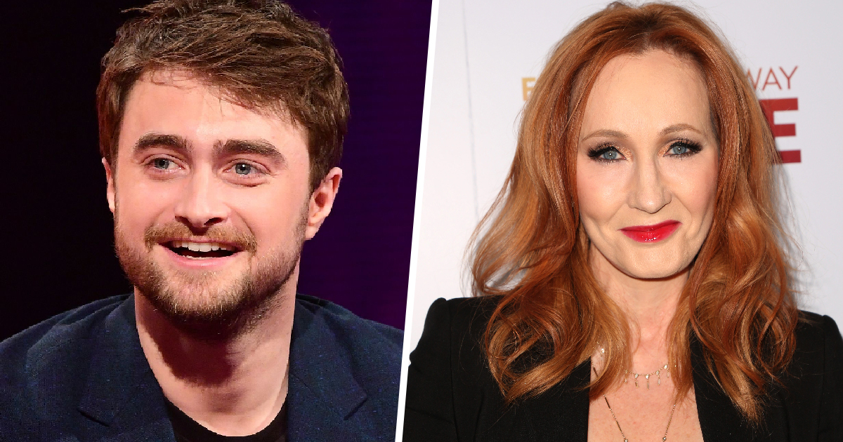 Daniel Radcliffe Responds To J.K. Rowling's Anti-Trans Rant In Support Of Trans Community
