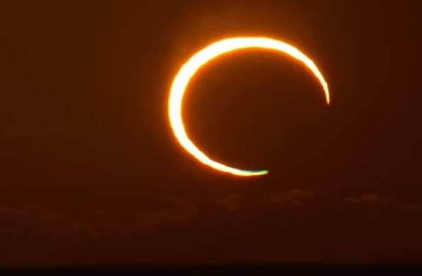 Total annular solar eclipse