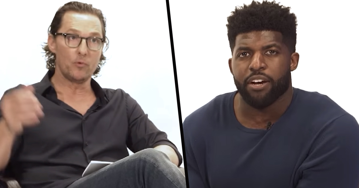 Emmanuel Acho's Conversation With Matthew McConaughey About Racism Is Essential Viewing