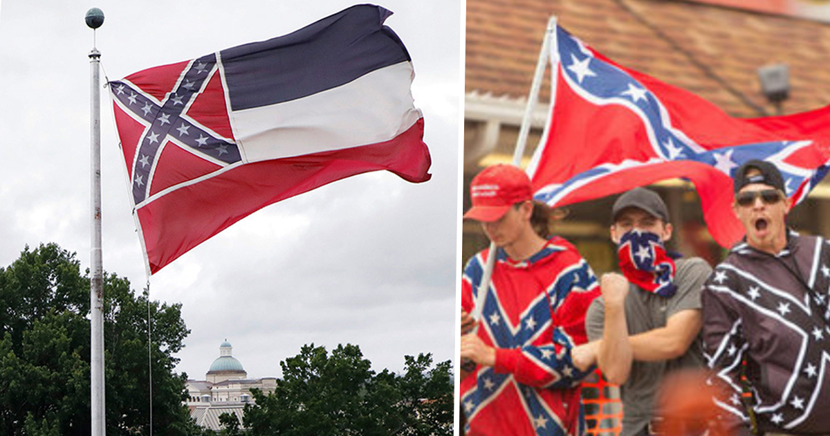 Mississippi Votes To Remove Racist Symbol From State Flag