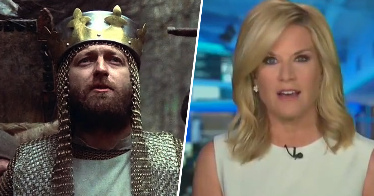 Fox News Report Reddit Post Quoting Monty Python And The Holy Grail As Real