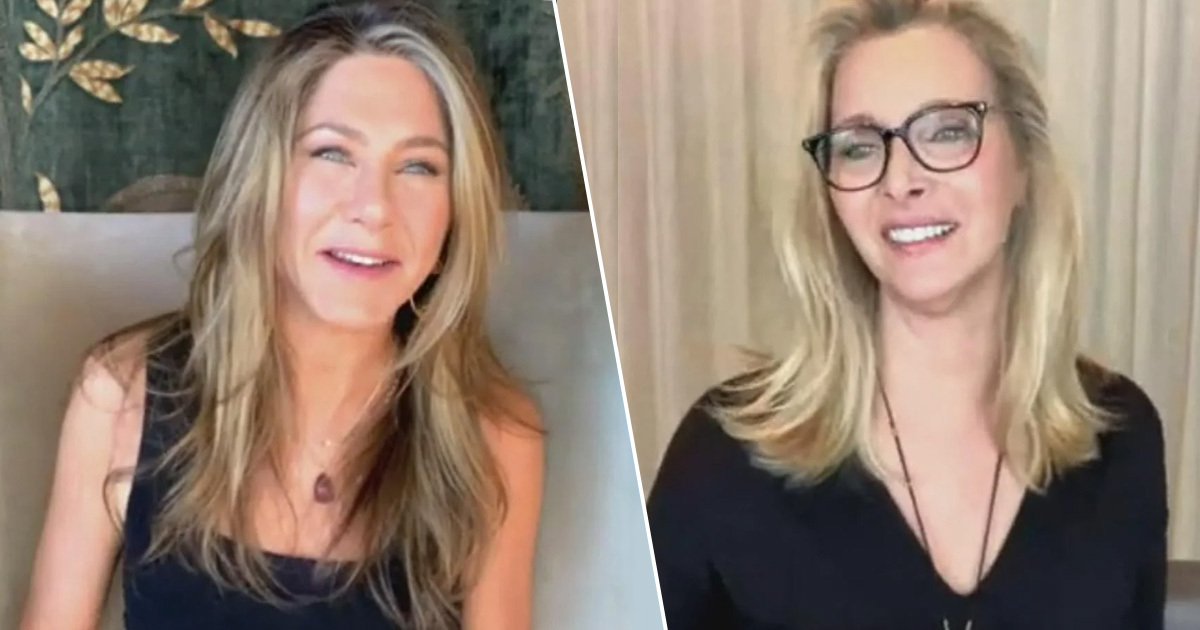 Jennifer Aniston And Lisa Kudrow Want Cast To Watch Friends Like Gogglebox