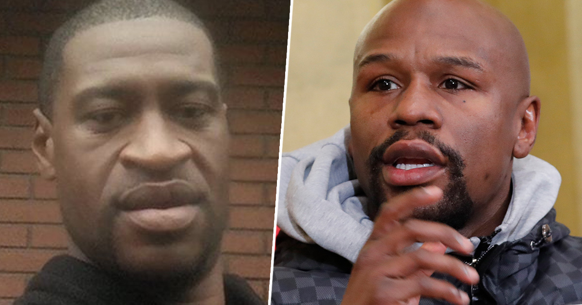 Floyd Mayweather Offers To Cover Cost Of George Floyd's Funeral Services