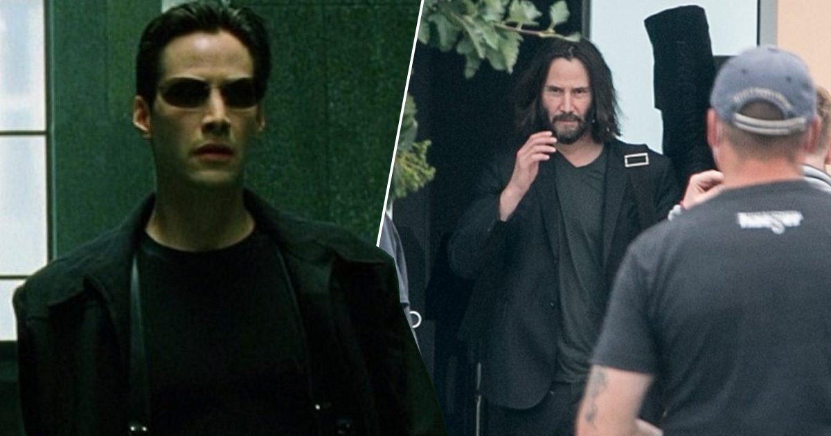 Matrix 4 Back To Filming As Keanu Reeves And Neil Patrick Harris Return To Set