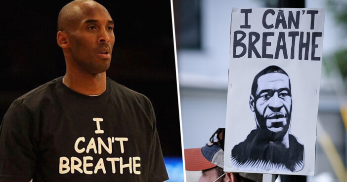 Vanessa Bryant Shares Photo Of Kobe Wearing T-Shirt With Words 'I Can't Breathe'