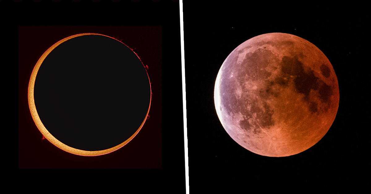 Stunning 'Ring Of Fire' Solar Eclipse Will Be Visible This Week