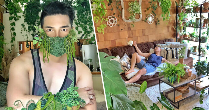 Self-Confessed 'Plant Daddy' Addicted To Owning House Plants Has Spent $5,000 On 200 Species