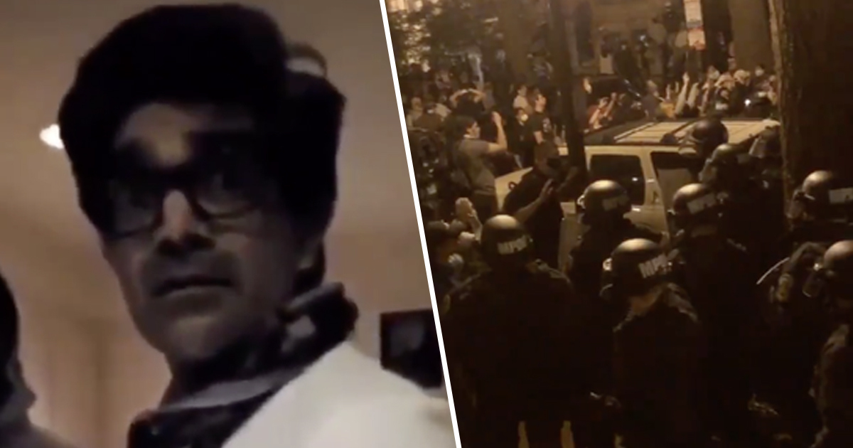 Man Sheltered Dozens Of Protesters In His Washington D.C. Home To Protect Them From Arrest